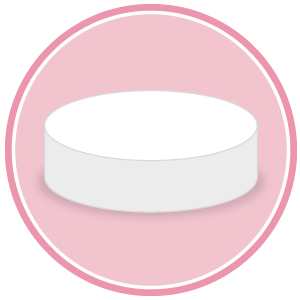base circolare in polistirolo per torte