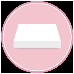 base per torte rettangolare in polistirolo