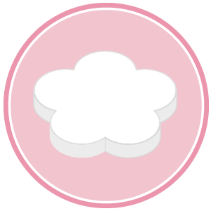 base di polistirolo per torte a forma di fiore