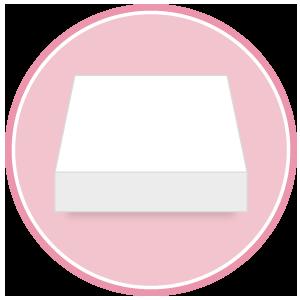 base quadrata in polistirolo per torte